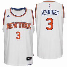 c4d79477e New York Knicks  3 Brandon Jennings 2016 Home White New Swingman Jersey Nba  New York