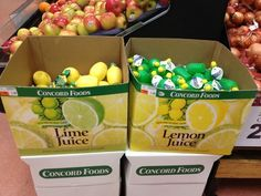 """""""When life gave this grocer lemon juice, he PUT IT IN THE LIME BOX."""" (stealing the quote from Buzzfeed)"""