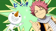Plue and Natsu: Rave Master × Fairy Tail