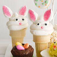 Bunny Surprise Cones Recipe