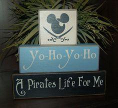 Mickey Mouse Yo Ho Yo Ho Pirate Pirate by SimpleBlockSayings