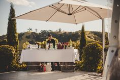 Italian lunch style wedding on Waiheke Island Italian Lunch, Waiheke Island, Italian Traditions, Island Weddings, Magnolia, Wedding Inspiration, Wedding Photography, Patio, Outdoor Decor