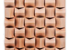 Customized 3D Acoustic Diffuser Panels , Sound Absorbing Wall ...