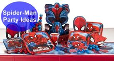 PartyPail.com Blog: Party Planning Tips, News, and More! | Spider-Man Party Ideas