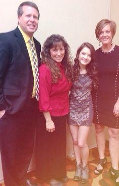 Jimbob and Michele with Kelly and Brooke