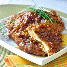 """Double Crunch Orange Chicken  """"This looks and sounds amazing!"""""""
