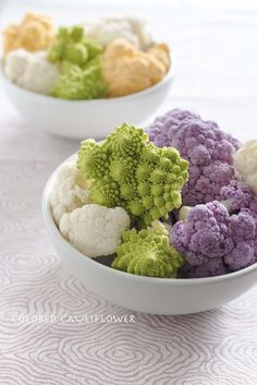 Colored cauliflowers #foodstyling #foodphotography #veggies Colored Cauliflower, Cauliflowers, Food Styling, Food Photography, Vegetables, Cauliflower, Vegetable Recipes, Veggie Food, Kale