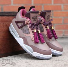 "Air Jordan 4 ""Louis Vuitton Wale Edition"""