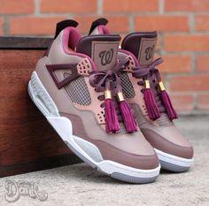 """Air Jordan 4 """"Louis Vuitton Wale Edition"""""""