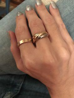 ideas for wedding rings cartier love bracelets Cute Jewelry, Gold Jewelry, Jewelery, Jewelry Accessories, Jewelry Necklaces, Women Jewelry, Dainty Jewelry, Jewelry Ideas, Jewelry Logo