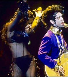 Prince and Mayte  <3