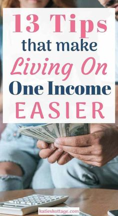 13 tips that make living on one income easier. Budget tips for families who live on one income. Perfect for stay at homes looking for real ways to live more comfortably. Frugal Family, Family Budget, Frugal Living Tips, Frugal Tips, Ways To Save Money, Money Tips, Money Saving Tips, Saving Ideas, Budgeting Finances