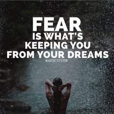 """""""・ Don't let fear keep you from making your dreams a reality. In my mind, the fear is investing money and losing. This is what risk is all about. Take calculated risks, learn and perfect your trade, Start of slow and progress. There will be bumps along the way, don't let them slow you down! This is what the entrepreneur hustle is all about! ・ Repost from @agentsteven a true risk taker! ・"""" Photo taken by @millionaire_mentor on Instagram, pinned via the InstaPin iOS App…"""