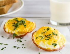 Canadian Bacon and Egg Cups are low-carb and easy to grab for a quick brinner. #JonesDairyFarm