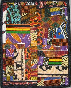 AFRICAN INFLUENCED QUILT.....PC