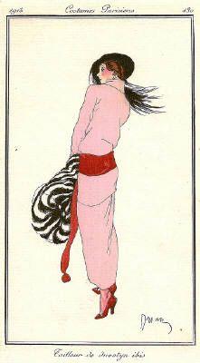 Journal des Dames et des Modes - a Parisian fashion journal published by Tom Antongini from June 1912 until August 1914.