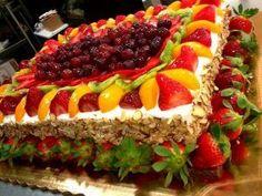 Bolo de frutas - O famoso publix cake - Receita do Dia