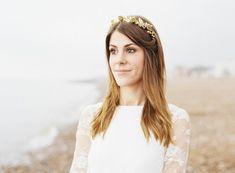 Gold bridal headpiece | Ann-Kathrin Koch