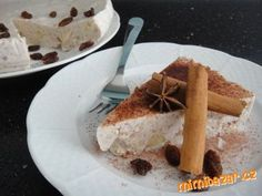 Pohankový koláč s tvarohem a pečenými jablky nepečený LEHKÝ OSVĚŽUJÍCÍ A ZDRAVÝ Gluten Free Cakes, French Toast, Cheese, Baking, Breakfast, Rum, Diet, Morning Coffee, Bakken