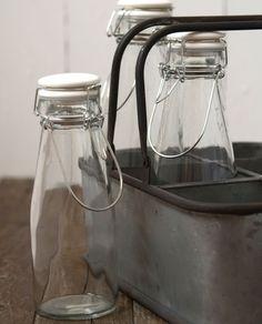Flasche mit Bügelverschluss für Allerlei