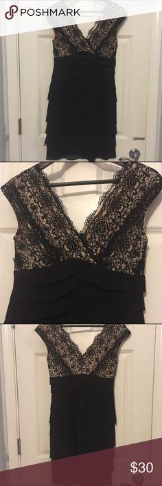 Black Scarlett Nite dress- dry cleaned Black Scarlett Nite dress-worn 1-2 times Scarlett Nite  Dresses