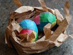 Craft Tape Eggs