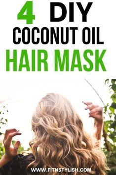 Best Diy Coconut Oil Hair Mask For Amazing Hair