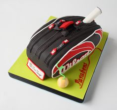 Tennis Bag Cake -