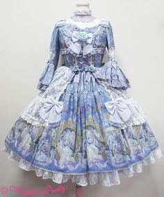 Angelic Pretty Rose Museum Dress