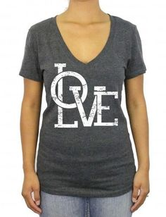 Love V Neck Shirt Love Shirt Love Tshirt Shirt Xoxo Shirt Valentines Day Gift