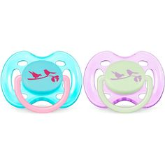 Philips AVENT Free Flow Infant Pacifier - Girl