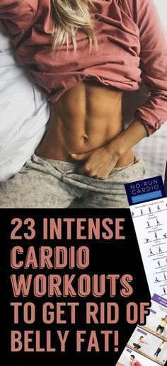 23 Intense Cardio Workouts To Get Rid Of Stubborn Belly Fat!