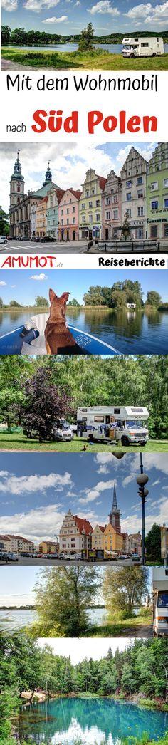 Wohnmobil Reisebericht Polen (Südpolen). Polen bietet für den Wohnmobil Touristen einmalige Übernachtsmöglichkeiten an Stauseeen, Flüssen oder auch einfach mal so mitten in der Natur.