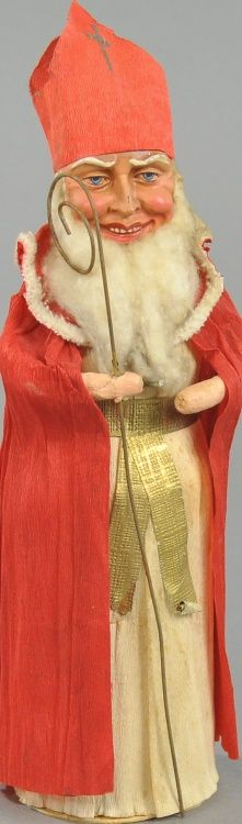 Saint Nicholas CANDY CONTAINER                                                                                                                                                                                 More