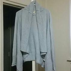 SWEATER BEAUTIFUL  GRAY SHOWL THROW MK SWEATER Michael Kors Sweaters