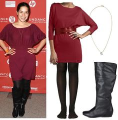 America Ferrera's Style for $92.96 | What the Frock? - Affordable Fashion Tips and Trends Stylish Clothes For Women, Stylish Outfits, Fashion Beauty, Womens Fashion, Fashion Tips, America Ferrera, Victorian Women, Affordable Fashion, Fashion Handbags