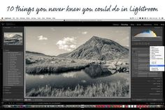 Killer Lightroom tips: 10 things you never knew you could do in Adobe's software. jmeyer | 17/07/2014. http://www.digitalcameraworld.com/2014/07/17/killer-lightroom-tips-10-things-you-never-knew-you-could-do-in-adobes-photoshop-alternative/