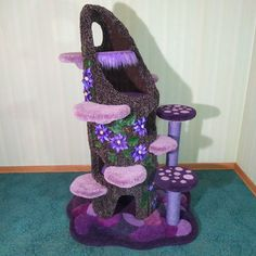 Crazy Cat Lady, Crazy Cats, Animals And Pets, Cute Animals, Cat Tree House, Diy Cat Tree, Do It Yourself Inspiration, Cat Towers, Animal Room