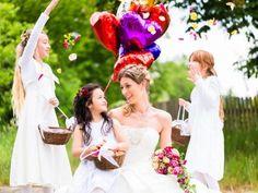 Ihr Hochzeitstag wird auch für die Kleinen zauberhaft – mit der richtigen Kinderbetreuung!