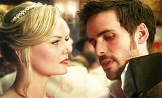 When their eyes meet, my heart just skips a beat it's so profound. Captain Swan