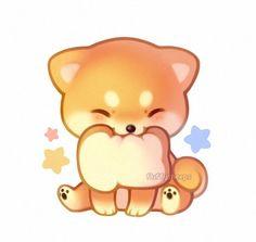 cute animal drawings - Drawing Tips Cute Dog Drawing, Cute Animal Drawings Kawaii, Cute Little Drawings, Cute Kawaii Animals, Cute Baby Animals, Cute Drawings, Horse Drawings, Arte Do Kawaii, Kawaii Art
