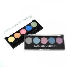 LA Colors 5 Color Metallic Eyeshadow II