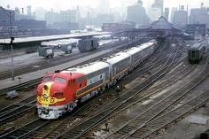 santa fe e3 diesel locomotives   ... Union Pacific EMD E9 – The Last Of The Classic Diesel Streamliners