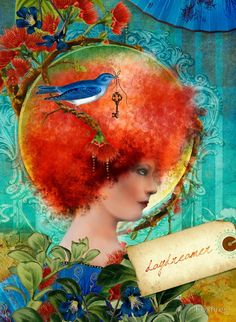 art by aimee stewart images | Daydreamer by Aimee Stewart