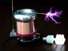 TinyTesla allows anyone to build a Tesla coil that shoots arcs of electricity and plays simple MIDI music files.