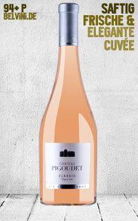 """Pigoudet """"Classic"""" Rosé 2013 - http://weinblog.belvini.de/pigoudet-classic-rose"""