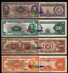 venezuela currency | ... - Venezuela paper money catalog and Venezuelan currency history