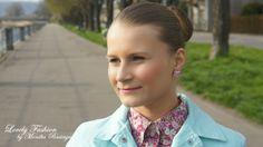 koszula / shirt - Tommy Hilfiger (second hand + alternation / przeróbka); kurtka / jacket - New Look (second hand); kolczyki / earrings - F&F