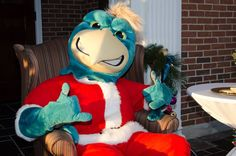 Chauncey feeling the holiday spirit! #CCU