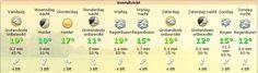 Weerbericht Medemblik 23 oktober - zacht herfstweer maar veel wind